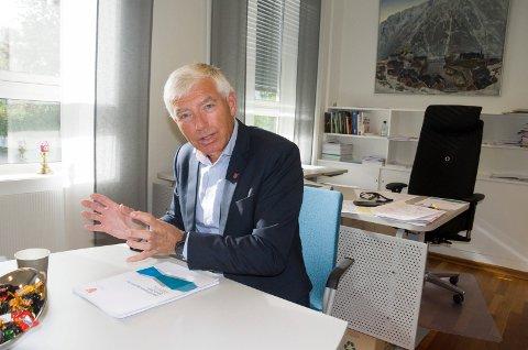 Rådmann Tore Isaksen mener Ringerike kommune så fort byplanen er på plass er godt rustet for å ta imot veksten fra ny vei og bane.