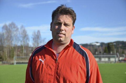 Roger Tvenge er ny hovedtrener for Jevnakers A-lag.