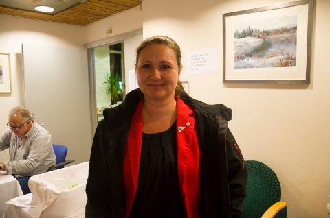 Lena Reitan (SV) er optimist og tror SV blir representert på Stortinget fra Buskerud.