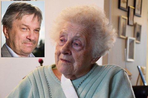 Ordfører Kjell B. Hansen kommenterer saken om Eva Marie Røren Helgesen (94), som ble sendt alene hjem etter hjerteoperasjon.