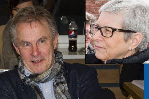 Helge Stiksrud går ut av Venstre. Dermed blir Anne-Marit Lillestø alene igjen.
