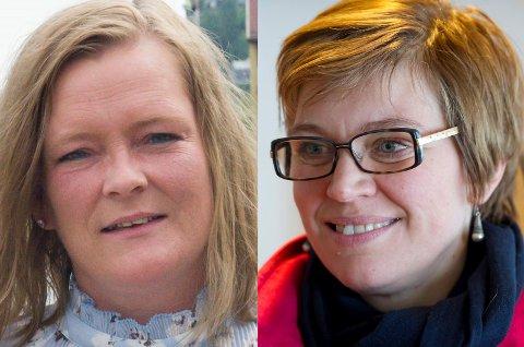 Både Anne Sandum (fra venstre) og Laila Gustavsen mener det var klokt av Trond Giske å ta en pause som nestleder.