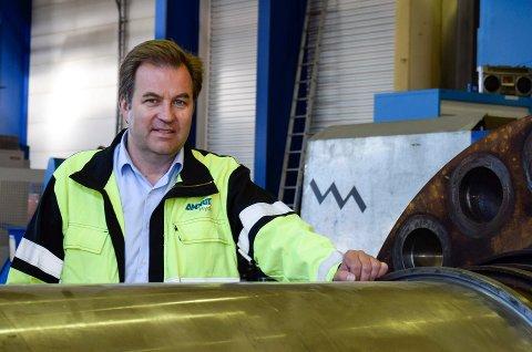 PERMITTERER: Daglig leder Kjetil Toverud bekrefter at ansatte nå permitteres ved Andritz Hydro.