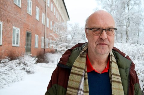 UFLAKS: Gotmar Rustad håper at uflaksen hans er brukt opp snart.