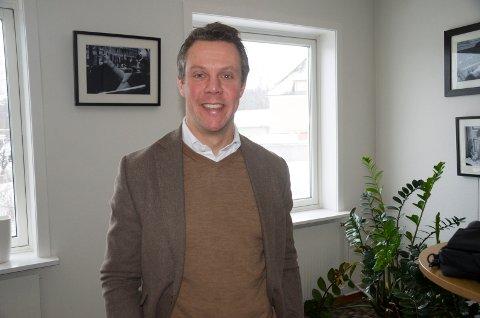 Oscar Sandstrøm, investeringsdirektør hos St1, har stor tro på at det blir biodrivstoffproduksjon på Treklyngen selv om den endelige beslutningen ikke er tatt.