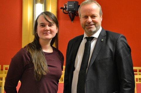 FRYKTELIG LEIT: Marit Knutsdatter Strand og Ivar Odnes er stortingsrepresentanter for Senterpartiet, ved neste valg kan de miste et mandat.