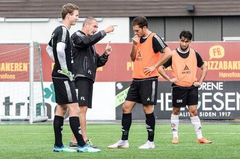HAR ÉN TANKE: HBK-Trener Frode Lafton er i hardt vær i det som er en blytung sesong. Han sier han har én tanke: Å få HBK til å vinne fotballkamper.