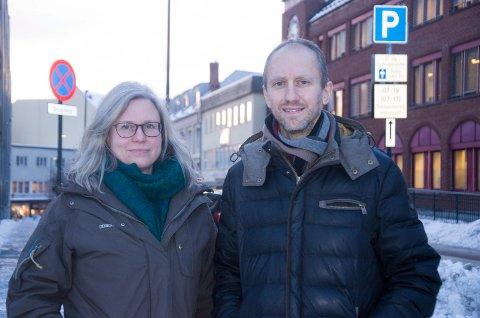 Spente: Foreldrene Miriam Geitz og Carsten Mielke mener Hjerterommet kan komme til å bli et godt tilbud for barn med spesielle behov, men er skeptiske til hvor inkluderte barna blir.