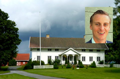 GRAVING UTEN KOSTNAD: Ifølge Telenor-direktør Jørgen Bjune har Opplysningsvesenets fond blant annet forlangt kostnadsfri graving til Hole prestegård.