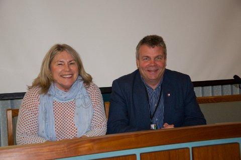 NESTE ORDFØRER: Kirsten Orebråten (Ap) og Dag E. Henaug (H) får trolig et avgjørende ord når Hønefoss skoles skjebne skal besegles.