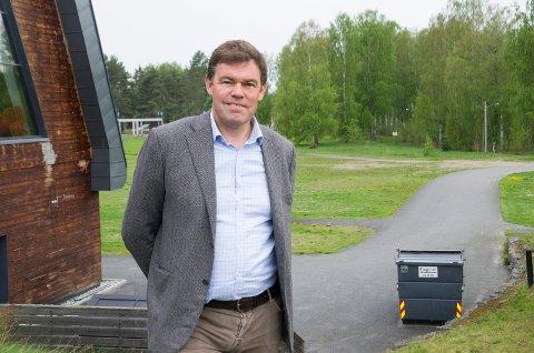 OPPDRAG: – Vi har fått i oppdrag å legge til rette for et godt bo- og arbeidsmarked, sier Frederik Skarstein.