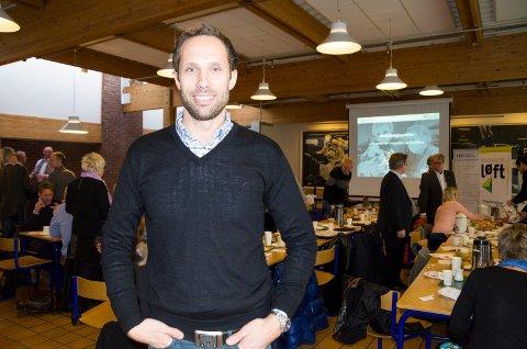 RIGGER FOR VEKST: - Vi er klare for en kraftig ekspansjon, sier Svein Bjerke, daglig leder i Varma AS.