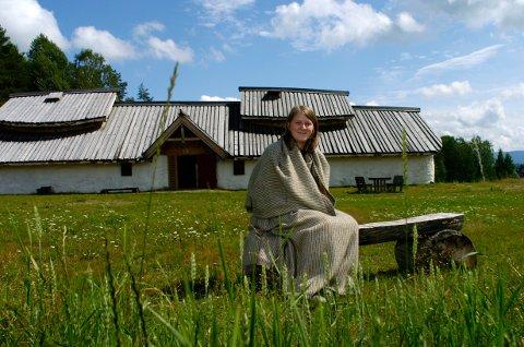 Guiden: Emma Nielsen har vært guide på Veien i mange år før hun ble ansatt som avdelingsleder.