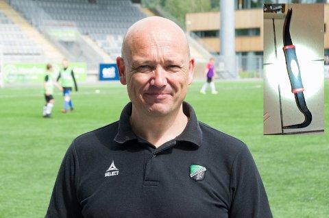 SKREMTE TYVEN: Runar Vinjevoll, daglig leder i HBK, kan ha skremt innbruddstyven slik at han stakk fra brekkjernet sitt.