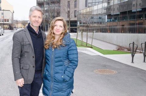 STORE PLANER: Agnar og Heidi Jo Hannisdal jobber ufortrødent videre med å starte opp en internasjonal skole til høsten.