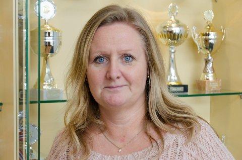 REKTOR: Vibeke Eriksen ved Tyristrand skole opplyser fredag at hele 9. trinn får hjemmeskole til og med 19. februar.