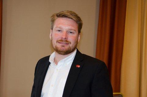 FORNØYD: Håkon Ohren (Ap) er glad for at det nå skal bli lettere å få utsatt eiendomsskatten for folk som sliter økonomisk på grunn av koronakrisen.