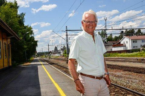 OPTIMIST: – Både Fylkesrådet og Fylkestinget i Viken ønsker å prioritere persontog på Randsfjordbanen, noe som er svært viktig med tanke på et framtidig togtilbud mellom Hokksund og Hønefoss, sier Ole Johan Sandvand.