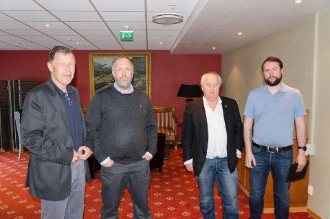 FRP: Ole Johan Andersen, Jon Rikard Sandum, Roger Larsen og Magnus Herstad, snudde og vil likevel at Heggen barnehage skal bestå.