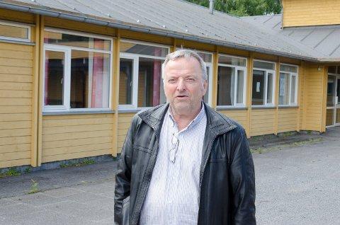 ØNSKE: Knut Stubben (KrF) ønsker et nytt kremtorium og seremonirom der Kirkeskolen ligger i dag.