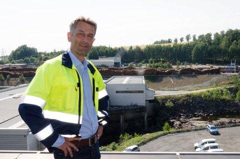 DEL AV GAMET: Rolf Jarle Aaberg, daglig leder hos Treklyngen, hadde håpet på finaleplass om batterifabrikk.