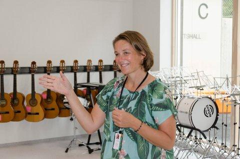GIR SEG: Anne Cathrine Fjellvang gir seg snart som rektor ved Ullerål skole.