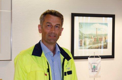 OPTIMIST: Rolf Jarle Aaberg i Treklyngen er fortsatt optimistisk og tror det skal være mulig å trekke flere industriaktører til Treklyngen.