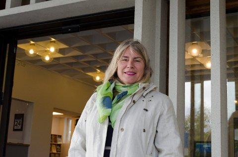 RÅDHUSET: Kirsten Orebråten trives i rollen som ordfører i Ringerike. Hun mener det er viktig at også varaordfører Dag E. Henaug har full stilling fordi det er mange areaner Ringerike kommune må være til stede på.