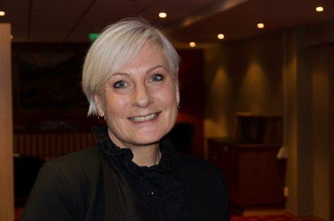 GODE MULIGHETER: Næringssjef Harriet Slaaen, mener en batterifabrikk med 2.000 arbeidsplasser vil gi fantastiske muligheter for Ringerike. Hun tror Ringerike vil hevde seg i konkurransen.