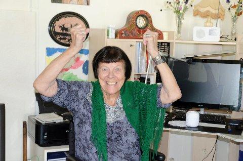 FORNØYD: Judith Magnussen (88) er jublende glad for at hun nå kan ta flere turer med taxi etter at TT-ordningen blir utvidet.
