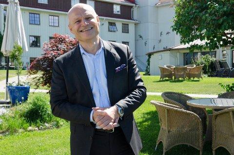 STORE PLANER: Johan Myren og selskapet Vow skal bygge ny fabrikk på Treklyngen. Nylig orienterte han politikerne i formannskapet om planene.