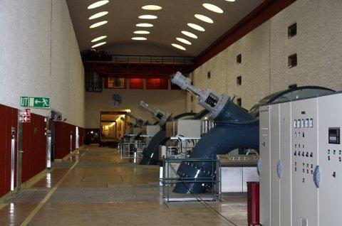 KRAFT: Statkraft leverer gode resultater. Her fra Mår kraftstasjon på Dale. (arkivbilde)