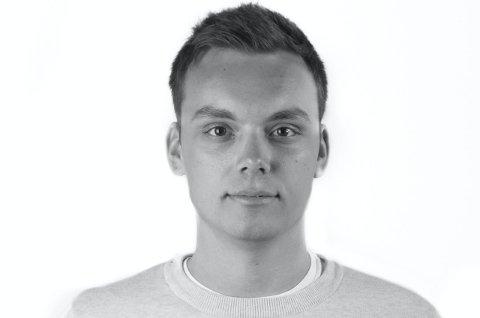 KLAR FOR BUNKERLIVET: Joachim Haraldsen (22) fra Nittedal skal sperres inne i åtte døgn. Foto: NRK
