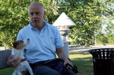 ANMELDTE: Styreleder Frank Alm Haugen i Dyrehjelperne anmeldte saken til politiet. Foto: Brede Høgseth Wardrum
