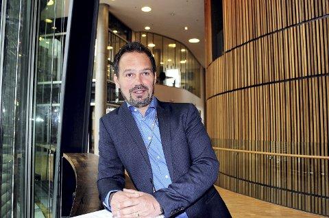 MEGET FORNØYD: Lørenskog-rådmann Ragnar Christoffersen er glad for at budsjettrammen holdes samtidig som etterspørselen øker.