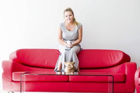 Michelle Enger ble kåret til Årets romeriking av RBs lesere. Hennes engasjement for kreftsaken har rørt mange.  Foto: Tom Gustavsen