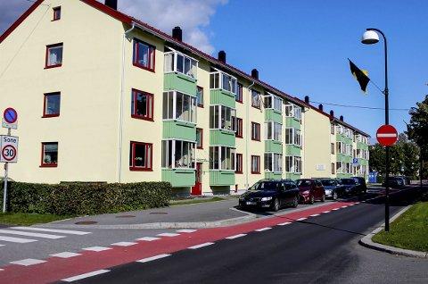 Stygt eller fint? I september går debatten om blokkene i Alexander Kiellands gate har blitt penere eller styggere etter oppussingen. Foto: Beate Kvien