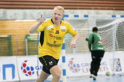 HERJET FØR PAUSE: Trym Bilov-Olsen puttet seks mål i 1. omgang, og var mye av grunnen til at Lillestrøm ledet til pause. 2. omgangen ble en helt annen historie.FOTO: ARKIV