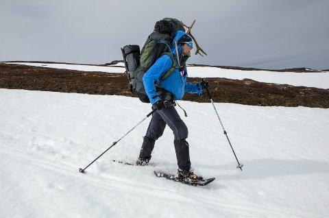 Tøff tur: Robin Pay legger ikke skjul på at det var tøft både psykisk og fysisk å være med på turen fra Lindesnes mot Nordkapp. begge Foto: Matti Bernitz
