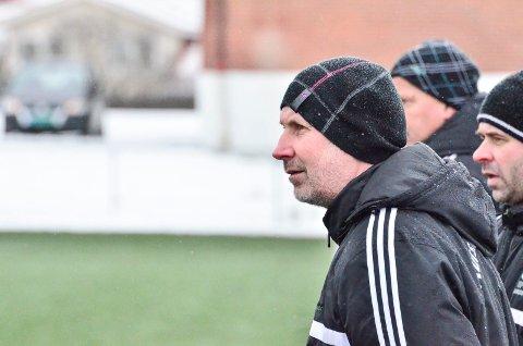 Arne Henrik Vestreng. Treningskamp Aurskog-Høland FK mot Aurskog-Finstdbru SK.