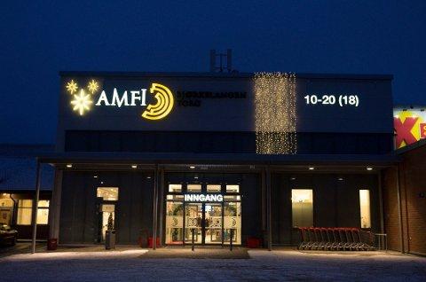 BEKYMRET: Varehandelen i Aurskog-Høland, her representert ved Amfi Bjørkelangen Torg, er bekymret over handelslekkasjen.