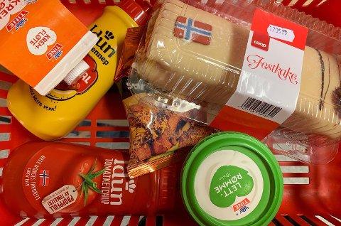 SMÅ FORSKJELLER: Extra går av med seieren i denne ukens dagligvarebørs. Det er få kroner som skille de tre billigste lavpriskjedene. Foto: FOTO: Halvor Ripegutu