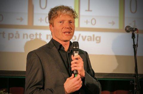 TOPPKANDIDAT: Sigbjørn Gjelsvik (46) fra Sørum i Lillestrøm kommune topper listeforslaget i Akershus Senterparti.