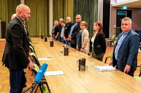 Norsk Industris leder Stein Lier Hansen (t.v.) og Fellesforbundets leder Jørn Eggum gjenopptok mandag forhandlingene i frontfaget. Kort tid etter ble det brudd i forhandlingene.