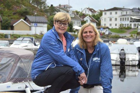 PÅ LISTA: Kristin Ørmen Johansen (t.v.) og Hurum-ordfører Monica Vee Bratlie står på henholdsvis 2. og 6. plass på stortingsvalglisten fra Buskerud Høyre.Begge foto: Hurum Høyre