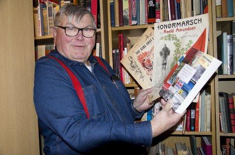 Bokaktuell: Tom B. Jensen fra Røyken er aktuell med bibliografien; Norsk Lokalhistorisk krigshistorie om 2. verdenskrig.
