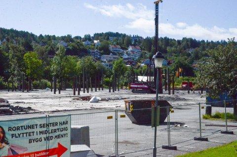 STiLLE: det har blitt avviklet ferie på byggprosjektet Rortunet, men arbeidet går etter planen.
