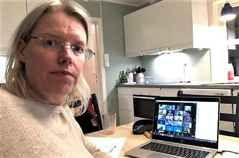 KRITISK: SVer Janne Grøttumsbråten mener det er kritikkverdig at kommunen fortsatt ikke har realisert fullt ut vedtaket om et «det akuttpsykiatriske tilbudet».