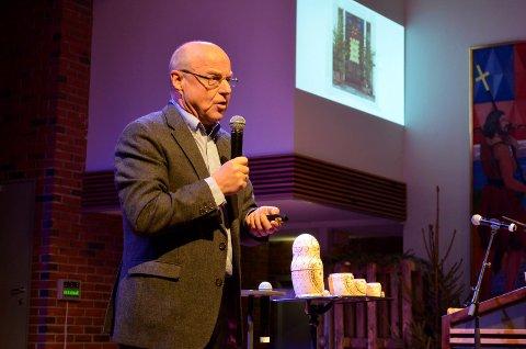 VÅT KULTUR: Pastor Einar Nymoen er gjest i Kontaktlunchen.