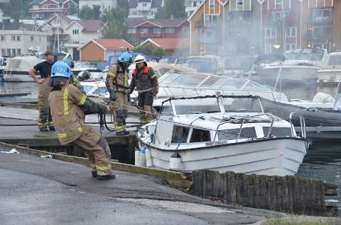 Båtsesongen starter nå: Sandefjord har tusenvis av hytter og fritidsbåter, men ingen redningsdykkerberedskap. Brannvesenet kan i dag bare redde personer som befinner seg i vannoverflaten. Arkivfoto